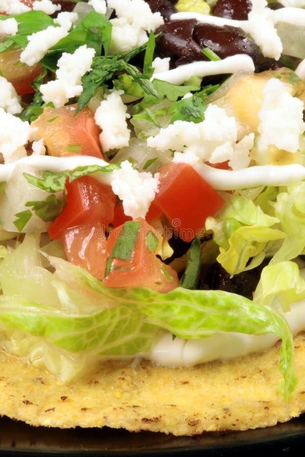 Tacos mexicain de tostadas image stock