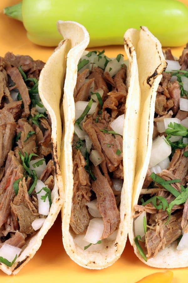 Tacos mexicano foto de stock