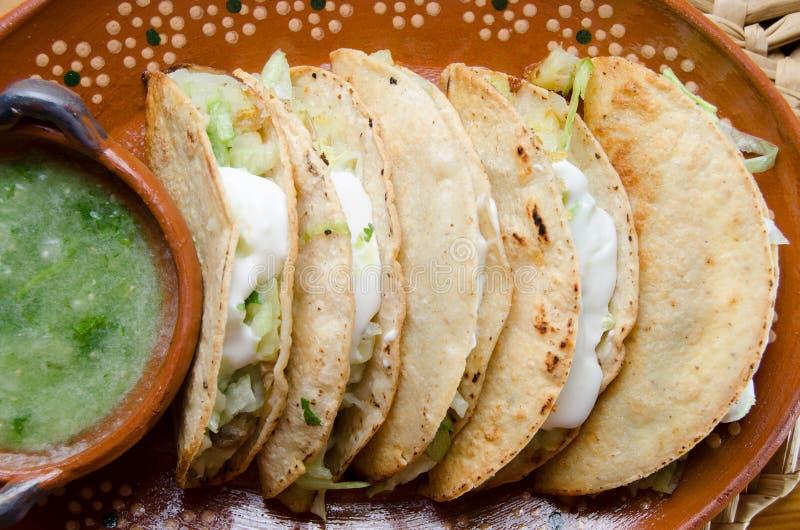 Tacos mexicano imagen de archivo