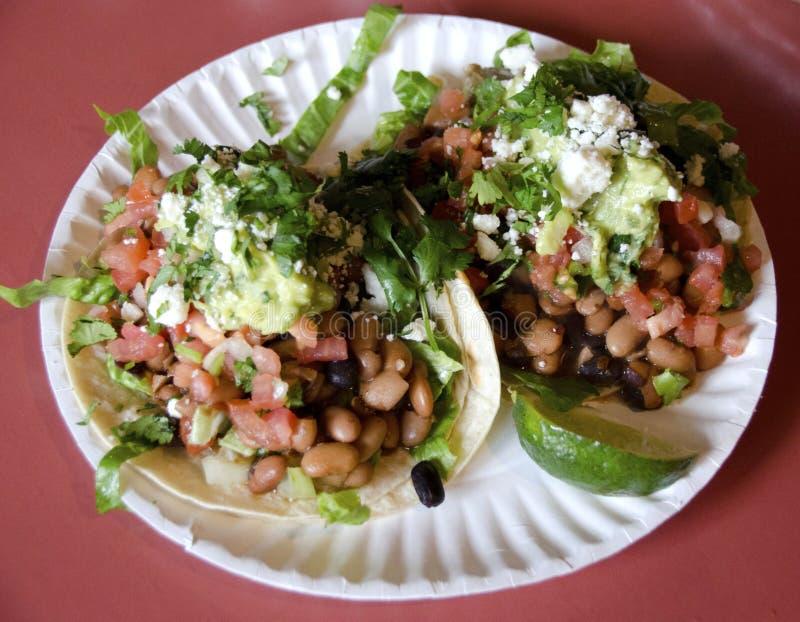 Tacos végétarien photos stock