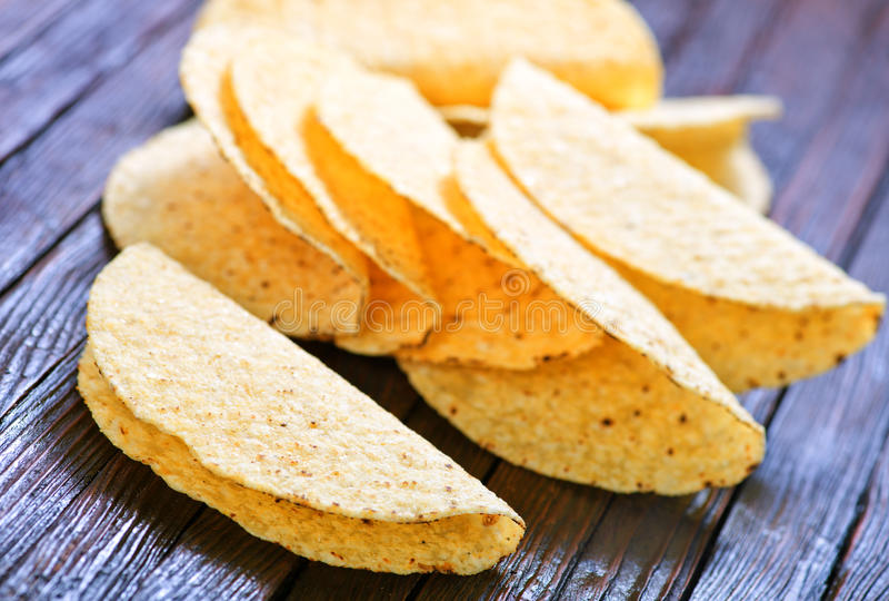 Tacoshells royalty-vrije stock fotografie
