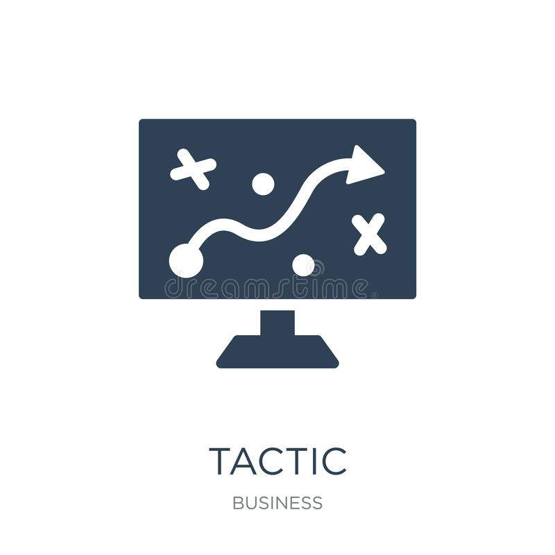tactic icon in trendy design style. tactic icon isolated on white background. tactic vector icon simple and modern flat symbol for royalty free illustration