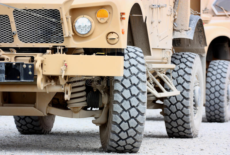 Tactical military vehicle royalty free stock photos