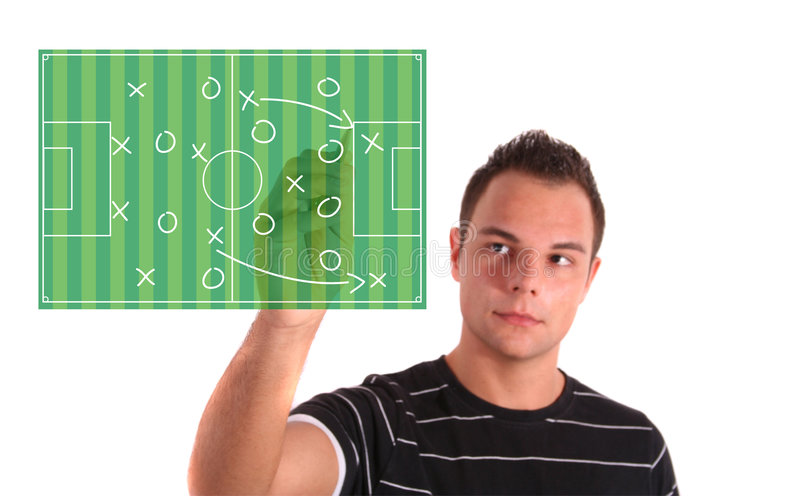 Download Tactical plan stock photo. Image of football, bugger, people - 7153802
