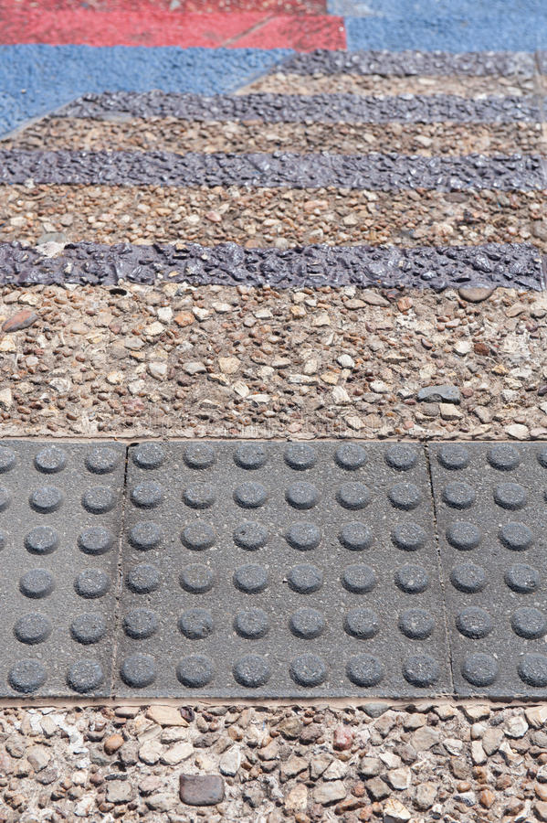 Tactile Paving Royalty Free Stock Photos