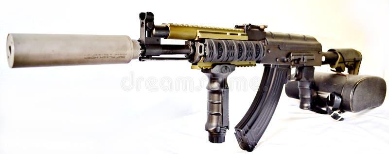 Tactische Kalashnikov 104 stock afbeelding
