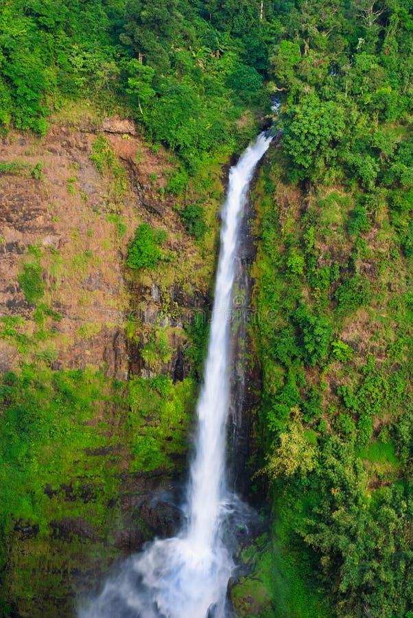 Tad fan waterfall, southern of laos. Tad fan waterfall, Pakse, southern of laos royalty free stock photo