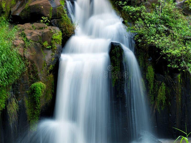 Tad-Pa Suam waterfall. In Champasak province, Southern Laos stock photo