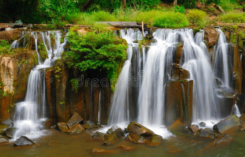 Download Tad Pha Suam Waterfall, Laos Stock Photo - Image: 15608530