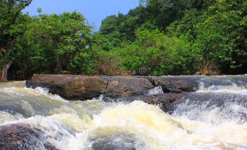 Tad Ton Waterfall royalty free stock photography
