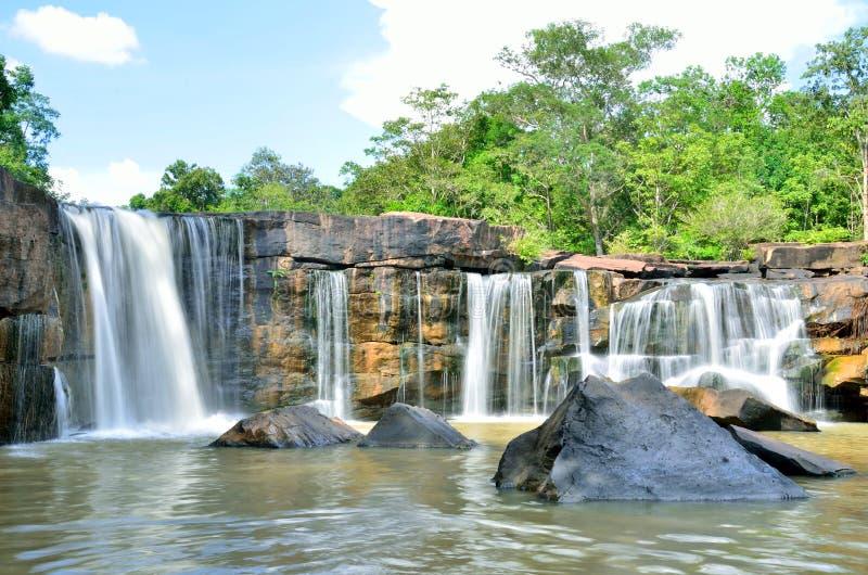 Tad Ton Waterfall National Park, Chaiyaphum Tailandia imagenes de archivo