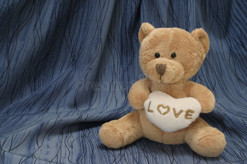 Taddy bear love royalty free stock photography