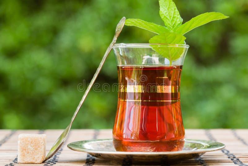 Tadelloser Tee lizenzfreie stockfotografie