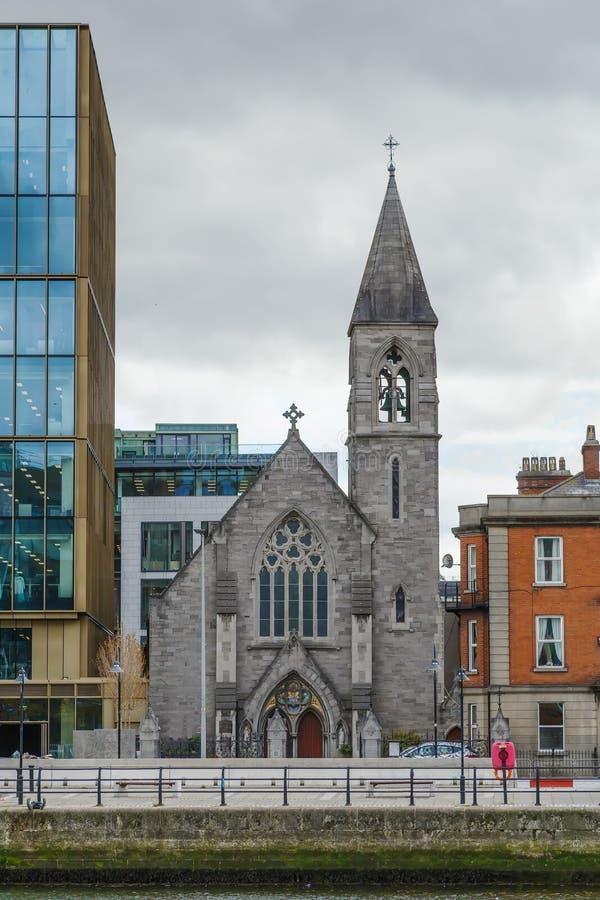 Tadelloses Herz von Mary-Kirche, Dublin, Irland lizenzfreies stockfoto