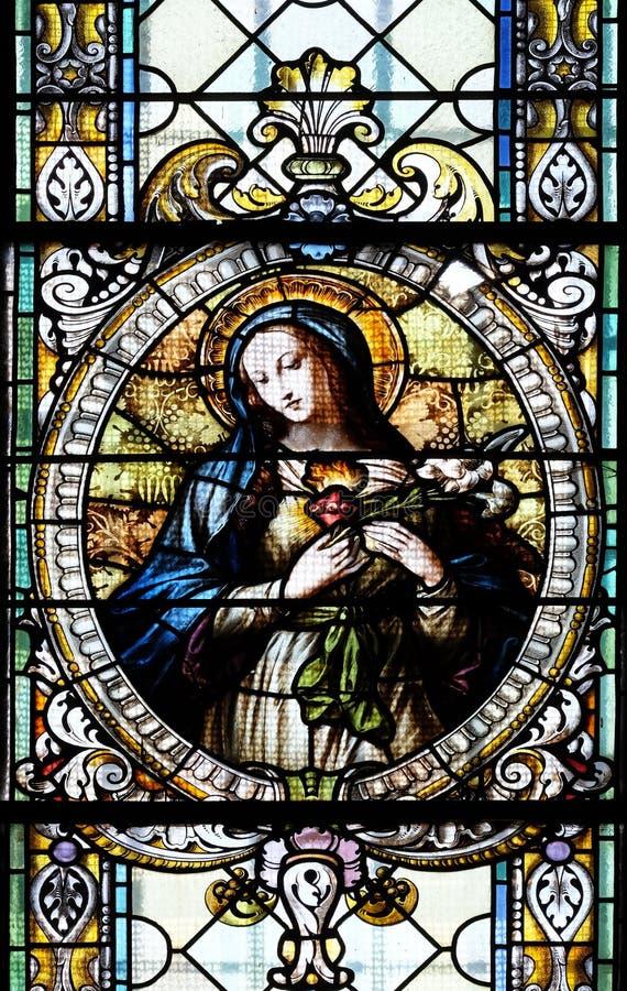 Tadelloses Inneres von Mary lizenzfreie stockbilder