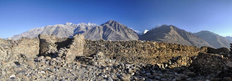 Tadschikistan-Panorama lizenzfreies stockbild
