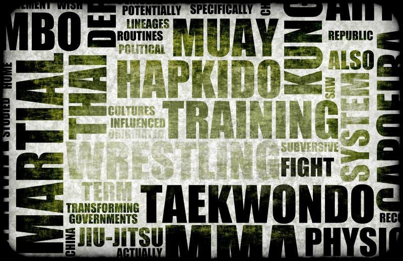 Tae Kwon tun vektor abbildung