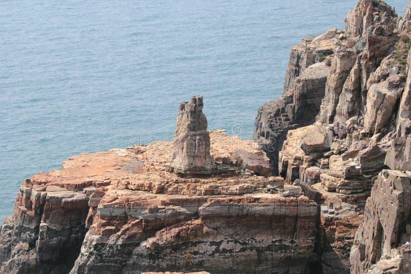 Taejongdae natuurreservaat in busan royalty-vrije stock afbeeldingen