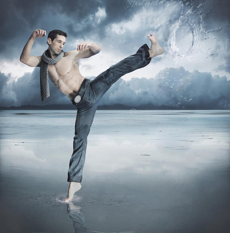 Taekwondo photographie stock libre de droits
