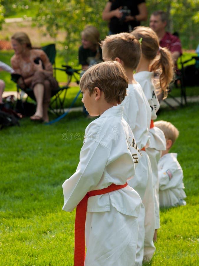 Taekwondo royalty-vrije stock afbeeldingen