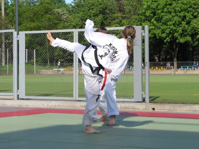Taekwondo stockfoto