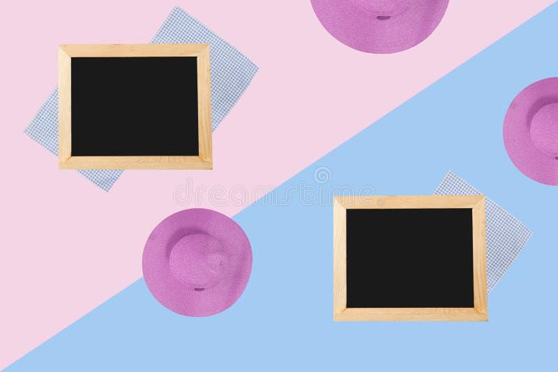 Tafel auf einem schönen Hintergrund stockfotos