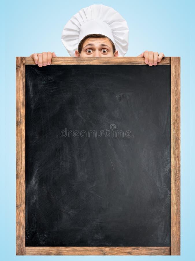 Tafel für Menü lizenzfreie stockfotos