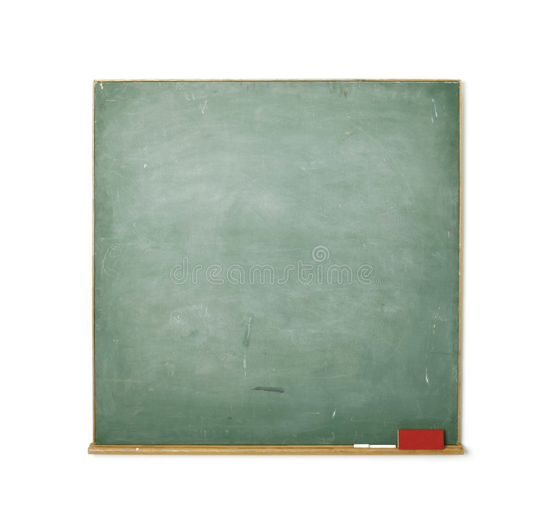 Tafel getrennt auf Weiß stockfotografie
