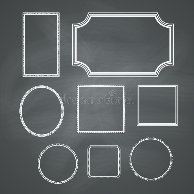 Tafel-Rahmen vektor abbildung. Illustration von kreativ - 32888703