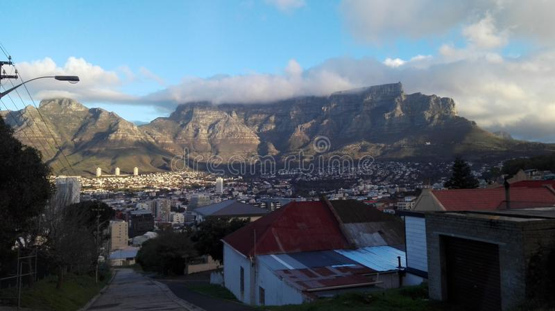 Tafelberg, Cape Town stockbild