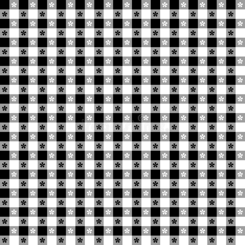 Tafelkleed EPS+JPG Black&White royalty-vrije illustratie