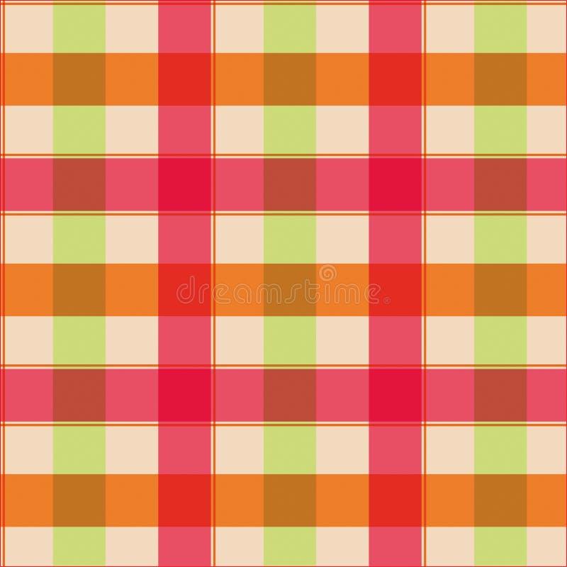 Tafelkleed naadloos patroon stock illustratie
