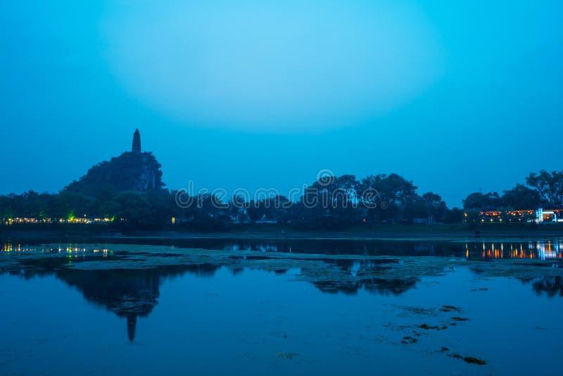 Tafeng公园 库存照片