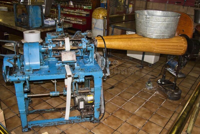 1917 Taffy maszyna obraz stock