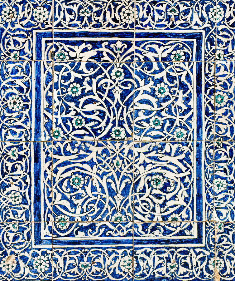 taflujący orientalni tło ornamenty royalty ilustracja