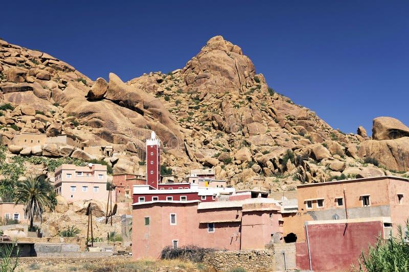Tafraoute στα βουνά αντι-ατλάντων στοκ φωτογραφία