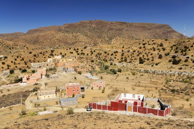 Tafraoute w atlant górach obraz royalty free