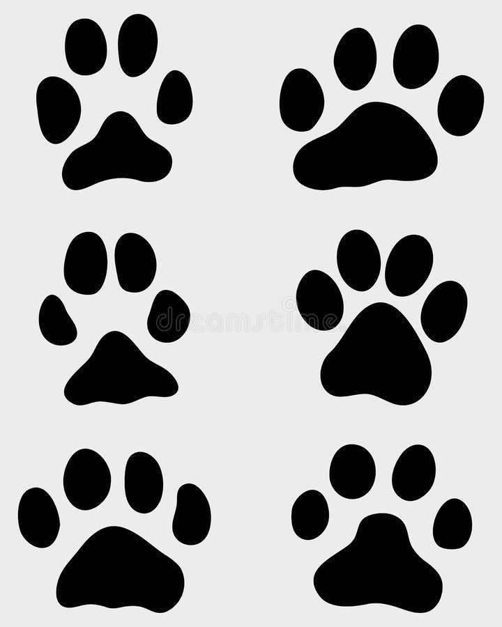 Tafsa av hundkapplöpning stock illustrationer