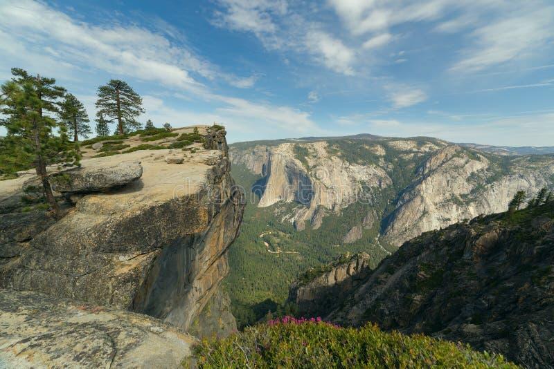 Taft punkt, Yosemite nationalpark, Califormia arkivbilder
