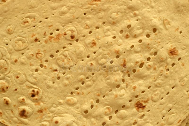 Taftan Bread, Iranian White Bread. Taftan or Taftoon Bread, a kind of Persian white flatbread stock photos