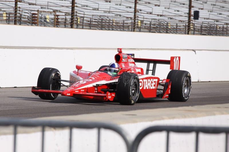 Tag 2011 Dario-Franchitti 10 Indianapolis 500 Pole stockfotos