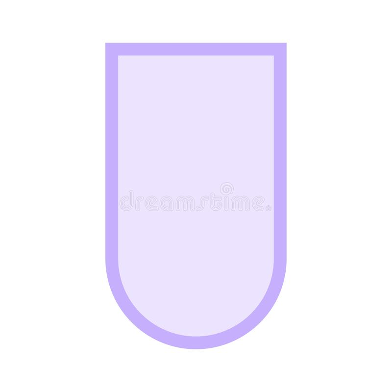 Tag color line icon. Vector flat Icon. Elements for mobile concept and web apps. Thin line icons for website design and development, app development. Premium stock illustration