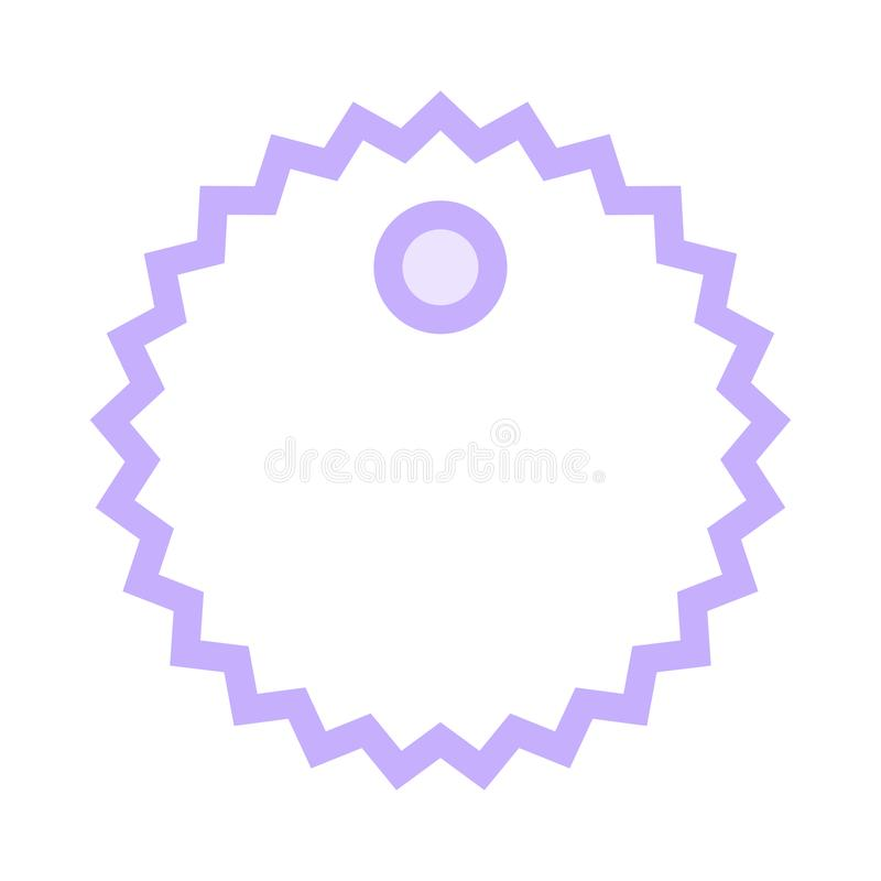 Tag color line icon. Vector flat Icon. Elements for mobile concept and web apps. Thin line icons for website design and development, app development. Premium royalty free illustration