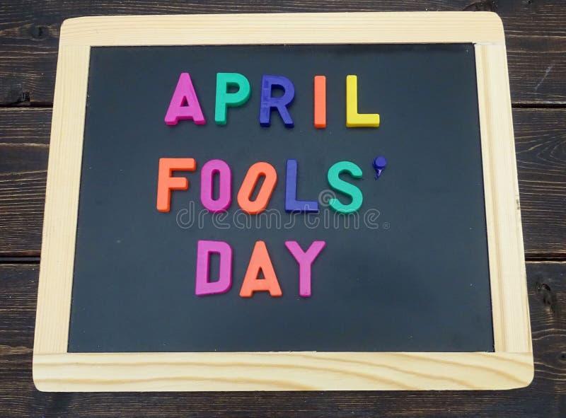 Tag der April-Dummköpfe lizenzfreies stockfoto