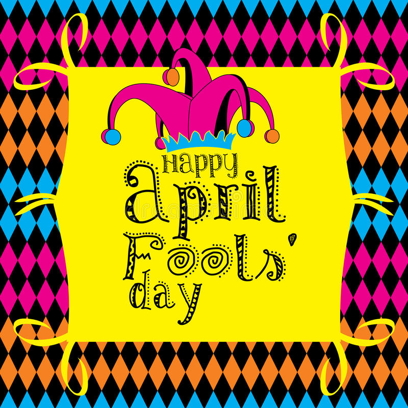 Tag der April-Dummköpfe vektor abbildung