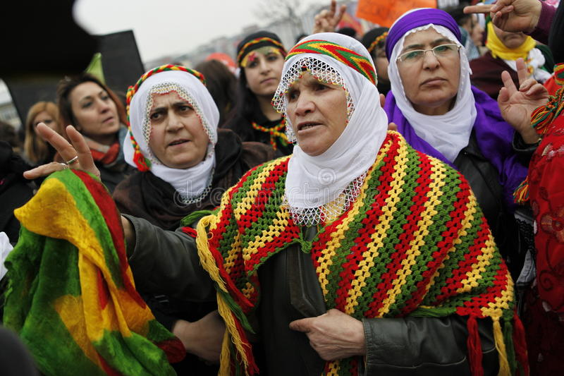 Tag Der Internationalen Frauen Redaktionelles Stockfoto