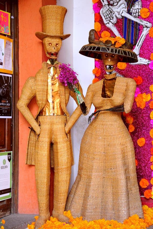 Tag der Toten in Oaxaca II stockfotografie