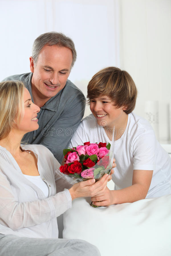 Tag des Mutter stockfotos