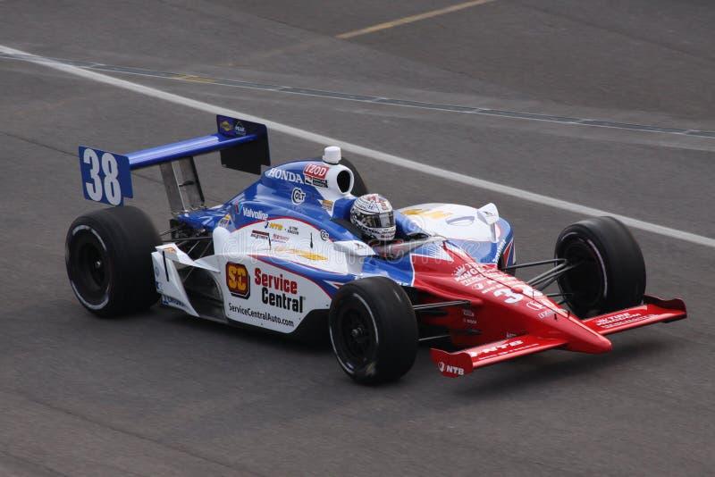 Tag Graham-Rahal Indianapolis 500 Pole Indy 2011 stockbilder
