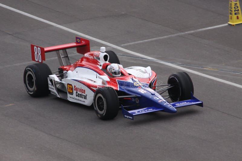 Tag Jay-Howard 88 Indianapolis 500 Pole Indy 2011 lizenzfreie stockfotos